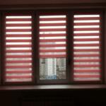 ролеты день-ночь красные на окна фото